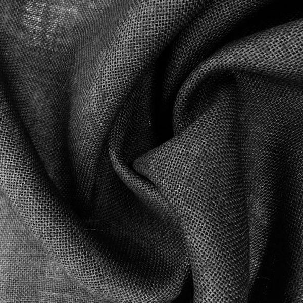 Arpillera yute de colores - Color Negro