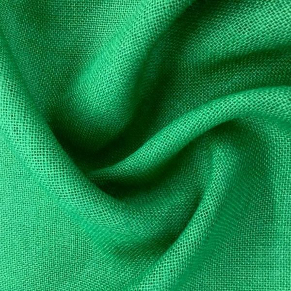 Arpillera yute de colores - Color Verde