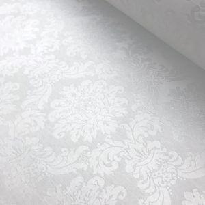 Adamascado blanco