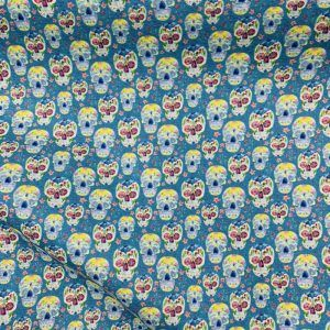 Calaveras azul